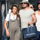 Nikki Reed and Ian Somerhalder out in Venice - 454 x 781