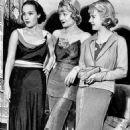 Constance Bennett with Dolores del Rio, & Joan Bennett (1934) - 454 x 567