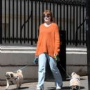 Nicola Roberts – Steps out for a walk in London - 454 x 524