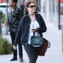 Michelle Trachtenberg Out Shopping in Beverly Hills November 23, 2016