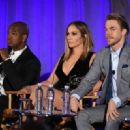 Jennifer Lopez of 'World Of Dance' speaks onstage during the 2017 NBCUniversal Summer Press Day at The Beverly Hilton Hotel on March 20, 2017 in Beverly Hills, California - 454 x 320