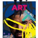 Drake Covers Art Issue of 'W' Magazine Illustrated by KAWS - 454 x 588