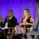Jennifer Lopez of 'World Of Dance' speaks onstage during the 2017 NBCUniversal Summer Press Day at The Beverly Hilton Hotel on March 20, 2017 in Beverly Hills, California - 454 x 289