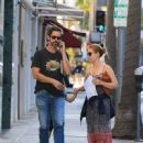 Amy Adams and Darren Le Gallo Are Seen Out and About in LA (October 5, 2016) - 450 x 600