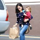 Jenna Dewan-Tatum and Everly are seen in Los Angeles