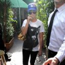 Katy Perry Leaves A Restaurant In Beverly Hills
