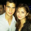 Phil Younghusband and Angel Locsin