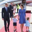 Prince Windsor and Kate Middleton  arrived at Berlin Tegel Airport - 454 x 527
