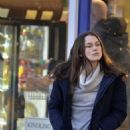 Keira Knightley – Filming 'Official Secrets' in Wetherby - 454 x 568