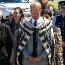 Meghan Markle – Welcomed by Maori warriors in New Zealand - 454 x 255