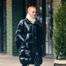 Rose McGowan – Arriving at The Bowery Hotel in NYC - 454 x 681
