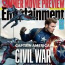 Captain America: Civil War - Entertainment Weekly Magazine Cover [United States] (22 April 2016)