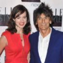 Sally Wood and Ronnie Wood  -  Publicity - 454 x 269