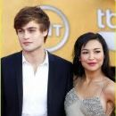 Naya Rivera and Douglas Booth