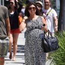 Kourtney Kardashian and Scott Disick at Nate 'n Al's Deli in Beverly Hills, CA (July 2)