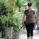 Kate Upton walking her dog in NYC (August 20)