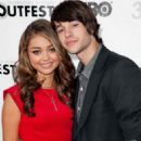 Sarah Hyland and Matt Prokop at the 2012 Outfest Closing Night Gala For 'Struck By Lightning' (July 22) - 454 x 681