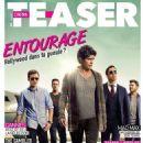 Entourage - Cinema Teaser Magazine Cover [France] (May 2015)