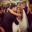Scooter Braun and Yael Cohen Wedding Day July 6, 2014