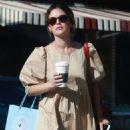 Rachel Bilson – Leaves Starbucks in Los Feliz