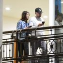 Camila Morrone and Leonardo DiCaprio – Out and about in West Hollywood - 454 x 507