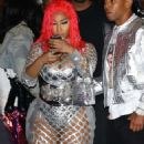 Nicki Minaj – Arriving to her Fendi Launch in Beverly Hills