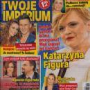 Katarzyna Figura - Twoje Imperium Magazine Cover [Poland] (7 December 2015)