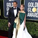 Jennifer Lopez and Alex Rodriguez – 77th Annual Golden Globe Awards in Beverly Hills