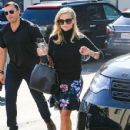 Reese Witherspoon is seen out in Los Angeles, California  (Jan. 10, 2018)