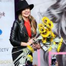 Thalia- Latina Album Launch Party and Signing Event Held at Hard Rock Cafe - 454 x 499
