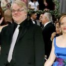 Mimi O'Donnell and Philip Seymour Hoffman - 454 x 266