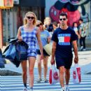 Sophie Turner and Joe Jonas – Shopping in New York