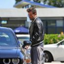 Ben Affleck picks his daughter up from Summer School in Los Angeles, California on July 15, 2016 - 400 x 600