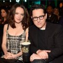 Daisy Ridley and J.J. Abrams At The 2016 MTV Movie Awards (April, 10, 2016) - Arrivals - 454 x 370