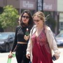Camila Cabello with her mom out in Los Angeles