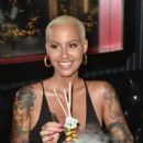 Amber Rose attends End Of Summer Party at Sugar Factory American Brasserie in Miami, Florida - August 18, 2017