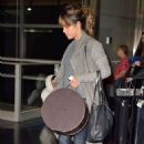 Halle Berry Arrives At Jfk Airport In Nyc