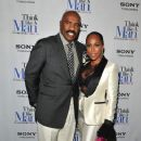 Marjorie Harvey and Steve Harvey - 374 x 594