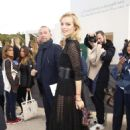 Eva Herzigova – Arrives at the Christian Dior Fashion Show in Paris