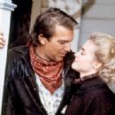 Kevin Costner and Amanda Wyss