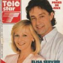 Elisa Servier - Télé Star Magazine Cover [Belgium] (20 August 1990)