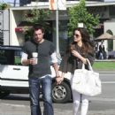 Kate Beckinsale With Husband Len Wiseman Out In LA, 2008-05-25