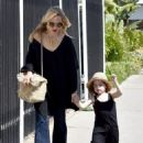Rachel Zoe was spotted running errands with her son Kaius Berman in Los Angeles, California on March 24, 2017