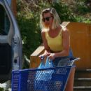 Margot Robbie in Denim Shorts – Out in Costa Rica