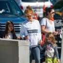 Isla Fisher Out For Ice Cream In La