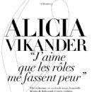 Alicia Vikander – Madame Figaro Magazine (March 2018)