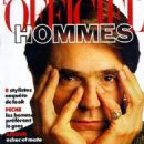 Jeremy Irons - L'Officiel Hommes Magazine Cover [France] (April 1989)