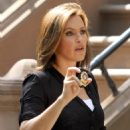 """Mariska Hargitay - On The Set Of """"Law And Order: Special Victims Unit"""" - August 9, 2010"""