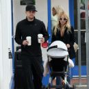 Nicole Richie & Joel Madden Taking Out Daughter Harlow In Glendale, CA 2008-05-09 - 454 x 554