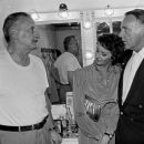 George C. Scott, Sally Hay & Richard Burton